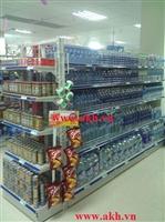 Đầu kệ siêu thị xanh